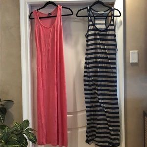 Two Long maxi dresses 👗